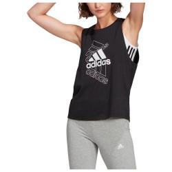 Adidas Essentials Stacked Logo Black